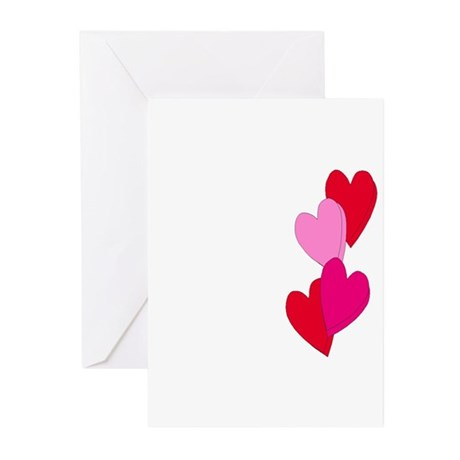 Candy Hearts Greeting Cards (Pk of 10)