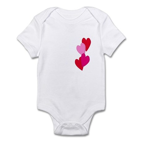 Candy Hearts Infant Bodysuit