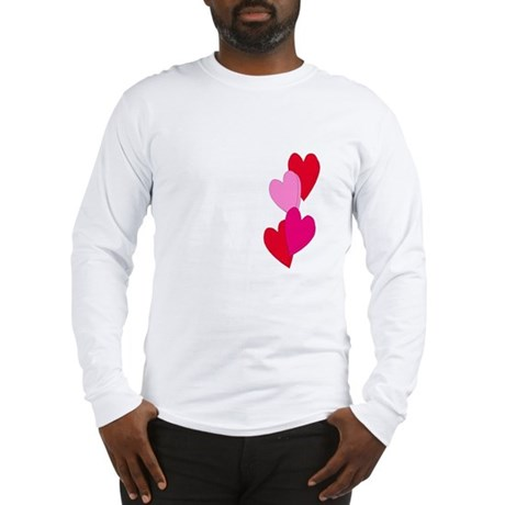 Candy Hearts Long Sleeve T-Shirt