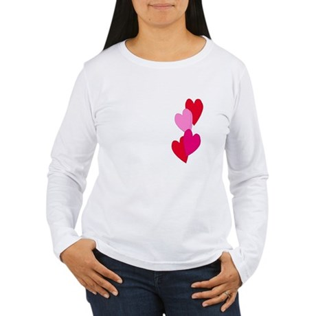 Candy Hearts Women's Long Sleeve T-Shirt