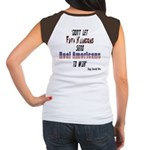 Faux Klingons (OnBack) Women's Cap Sleeve T-Shirt