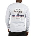 Faux Klingons (OnBack) Long Sleeve T-Shirt