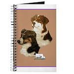 Australian Shepherd Pair Journal
