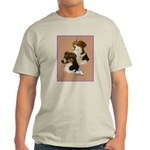 Australian Shepherd Pair Ash Grey T-Shirt