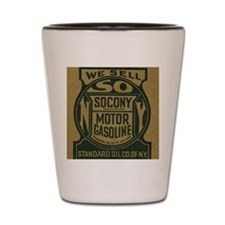 socony Shot Glass