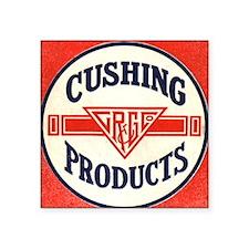 "Cushing Square Sticker 3"" x 3"""