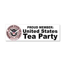 tea_party_hat2 Car Magnet 10 x 3