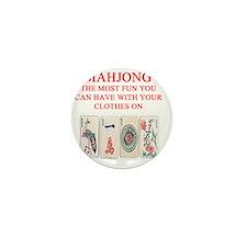 MAHJONG joke Mini Button