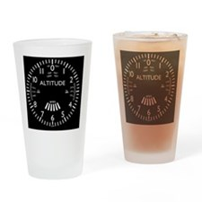 altimeter_clock Drinking Glass