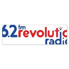 Revolution Logo Original Bumper Sticker