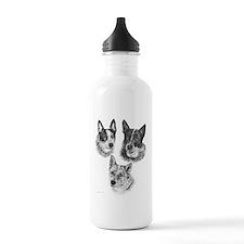 PeachesMattieMick Sports Water Bottle