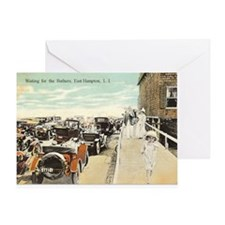 Waiting for Bathers Greeting Card