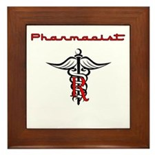 Pharmacist Framed Tile