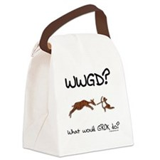 whatwouldgrokdo Canvas Lunch Bag