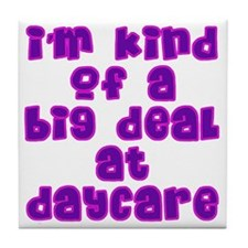 daycare_girls Tile Coaster