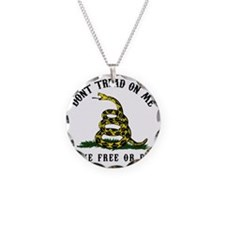 Dont Tread -wh Necklace