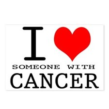 2-I Love Cancer copy Postcards (Package of 8)