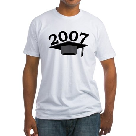 Graduation 2007 Fitted T-Shirt