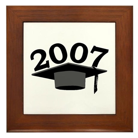 Graduation 2007 Framed Tile