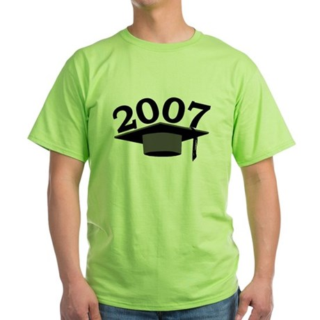 Graduation 2007 Green T-Shirt