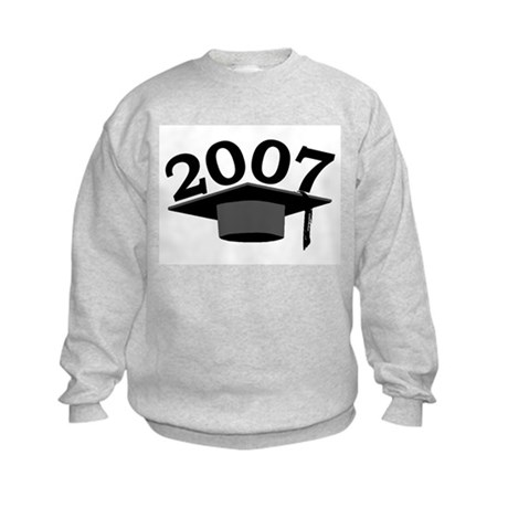 Graduation 2007 Kids Sweatshirt