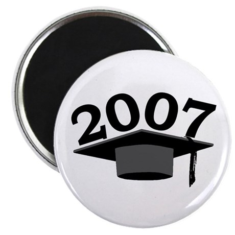 "Graduation 2007 2.25"" Magnet (100 pack)"