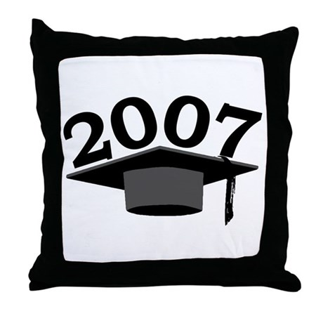 Graduation 2007 Throw Pillow