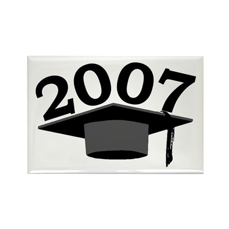 Graduation 2007 Rectangle Magnet (100 pack)