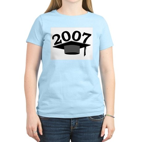 Graduation 2007 Women's Pink T-Shirt
