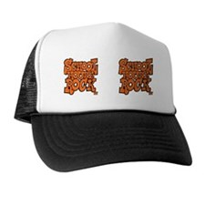 2-school_house_rock_X2_orange_coffee_m Trucker Hat