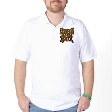 3-schoolhouserock_brown_dark Golf Shirt