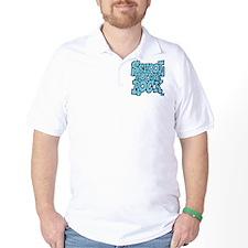 3-schoolhouserock_blue Golf Shirt