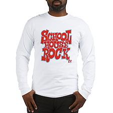 2-schoolhouserock_red_REVERSE Long Sleeve T-Shirt