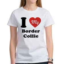 I Heart My Border Collie Tee