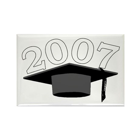 Class of 2007 Rectangle Magnet (100 pack)