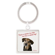 theres_no_better_love_red-white9T Square Keychain