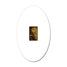 Journal_HeadOnly_Calvin 20x12 Oval Wall Decal