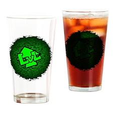 Level Up Logo Drinking Glass