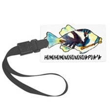 050AHumuNukuNameFish-R Luggage Tag