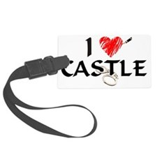 castle1lt Large Luggage Tag