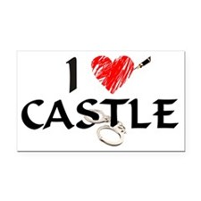 castle1lt Rectangle Car Magnet