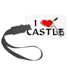 castle2lt Large Luggage Tag