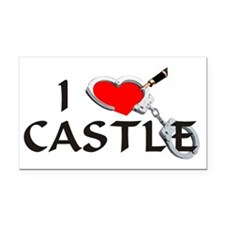 castle2lt Rectangle Car Magnet