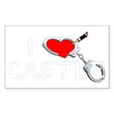 castle2dk Sticker (Rectangle)