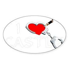 castle2dk Sticker (Oval)