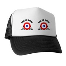 Curling Mug Trucker Hat