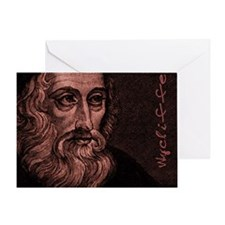 Mousepad_Head_Wycliffe Greeting Card