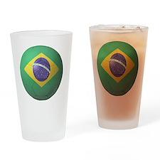 Brazil Soccer 2010 Drinking Glass