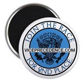 "Vice-Precedence ""Join the Race"" Magnet"