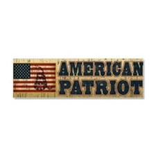 american patriot_bump Car Magnet 10 x 3